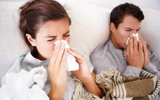 = weniger Grippe-Erkrankungen und Erkältungen?