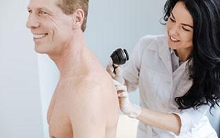 Screening zur Hautkrebs-Früherkennung