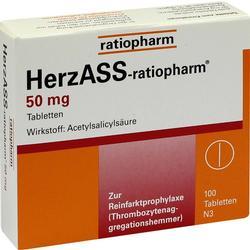 HERZASS ratiopharm 50 mg Tabletten