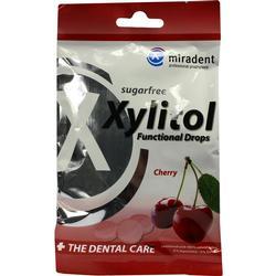 MIRADENT Zahnpflegebonbon Xylitol Drops Cherry