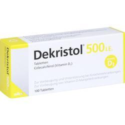 DEKRISTOL 500 I.E. Tabletten