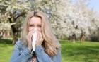 eine lästige Allergie