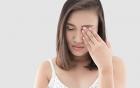 Augenjucken – Allergie?