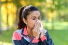 Mit Erkältung besser nicht trainieren