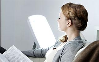 - Lichttherapie bei Depressionen