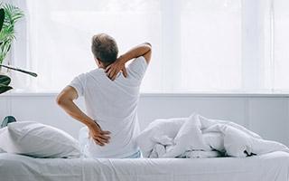 Bandscheibe - gereizte Nerven entlasten