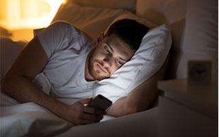 Smartphones und Schlafqualität - einfach mal abschalten