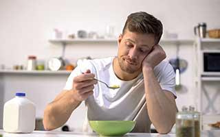 ernähren sich einseitig