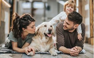 Hundebesitzer leben gesünder und glücklicher