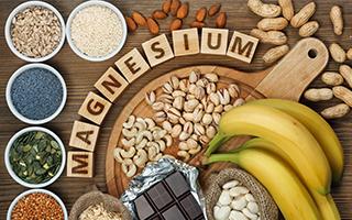 Magnesium macht die Knochen stark