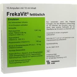 FREKAVIT fettlöslich Emulsion Glas
