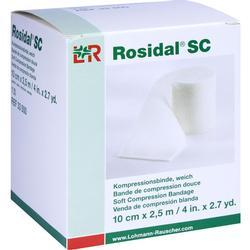 ROSIDAL SC Kompressionsbinde weich 10 cmx2,5 m