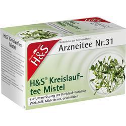 H&S Kreislauftee Mistel Filterbeutel