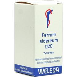 FERRUM SIDEREUM D 20 Tabletten
