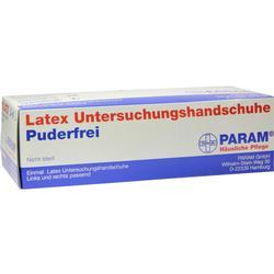 HANDSCHUHE Einmal Latex puderfrei M