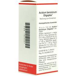 ACIDUM BENZOICUM OLIGOPLEX Liquidum