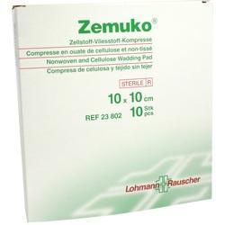 ZEMUKO Kompr.steril 10x10 cm