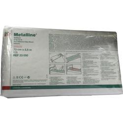 METALLINE Betttuch 73 cmx2,5 m steril