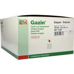 GAZIN Dialysetupfer 2+3 steril m.Schutzring