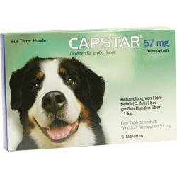 CAPSTAR 57 mg Tabletten f.gro\s39e Hunde