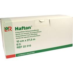 HAFTAN Schaumstoffbinde 10 cmx27,5 m