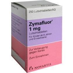 ZYMAFLUOR 1 mg Lutschtabletten