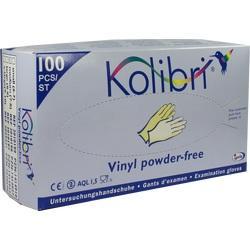 KOLIBRI Untersuch.Handschuhe Vinyl puderfrei M