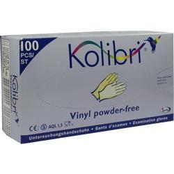 KOLIBRI Untersuch.Handschuhe Vinyl puderfrei L