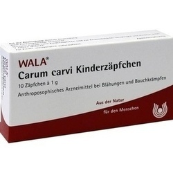 CARUM CARVI Kinderzäpfchen