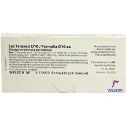 LAC TARAXACI D10/ PARMELIA D10 aa Ampullen