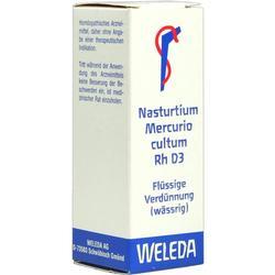 NASTURTIUM MERCURIO cultum Rh D 3 Dilution