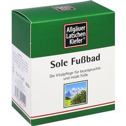 ALLGÄUER LATSCHENK. Sole Fu\s39bad