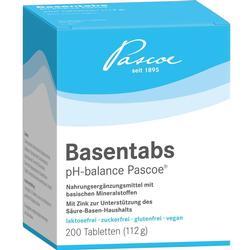 BASENTABS pH Balance Pascoe Tabletten