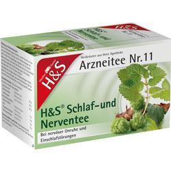 H&S Schlaf- und Nerventee Filterbeutel