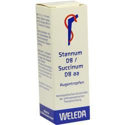 STANNUM D 8 succinum D 8 aa Augentropfen