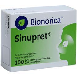 SINUPRET \u25berzogene Tabletten