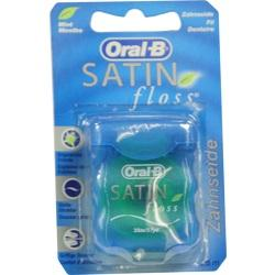 ORAL B Zahnseide SATINfloss blau Blisterkarte