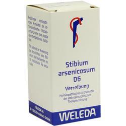 STIBIUM ARSENICOSUM D 6 Trituration