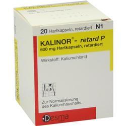 KALINOR retard P 600 mg Hartkapseln
