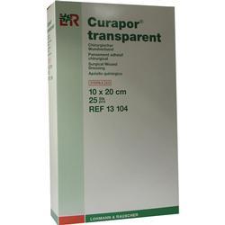 CURAPOR Wundverband steril transparent 10x20 cm