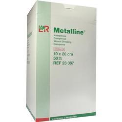 METALLINE Kompressen 10x20 cm steril