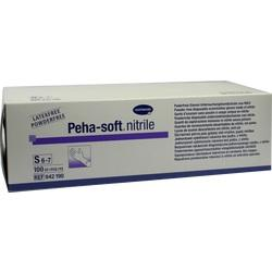 PEHA-SOFT nitrile Unt.Handsch.unste.puderfrei S