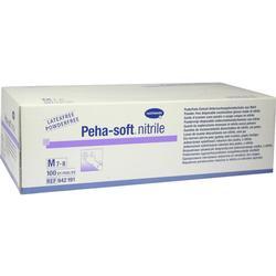 PEHA-SOFT nitrile Unt.Handsch.unste.puderfrei M