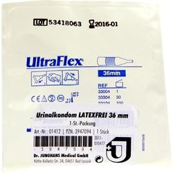 URINALKONDOM 36 mm latexfrei selbsthaftend