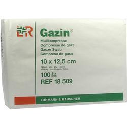 GAZIN Mullkomp.10x12,5 cm unsteril 12fach Op