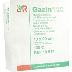 GAZIN Mullkomp.10x20 cm unsteril 12fach RK
