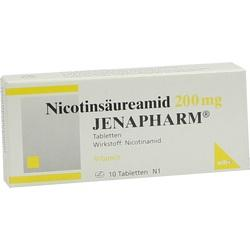 NICOTINSÄUREAMID 200 mg Jenapharm Tabletten