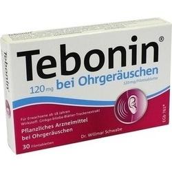TEBONIN 120 mg bei Ohrgeräuschen Filmtabletten