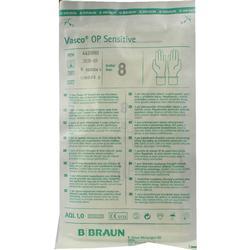 VASCO OP Sensitive Handsch.steril puderfrei Gr.8,0