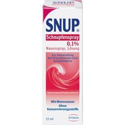SNUP Schnupfenspray 0,1% Nasenspray
